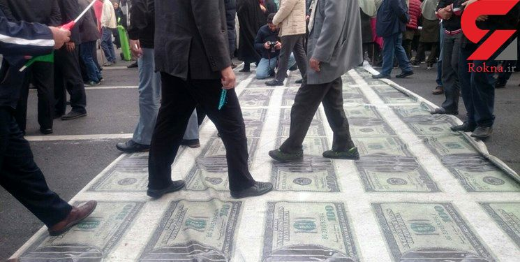 دلار زیر پای تهرانیها +عکس