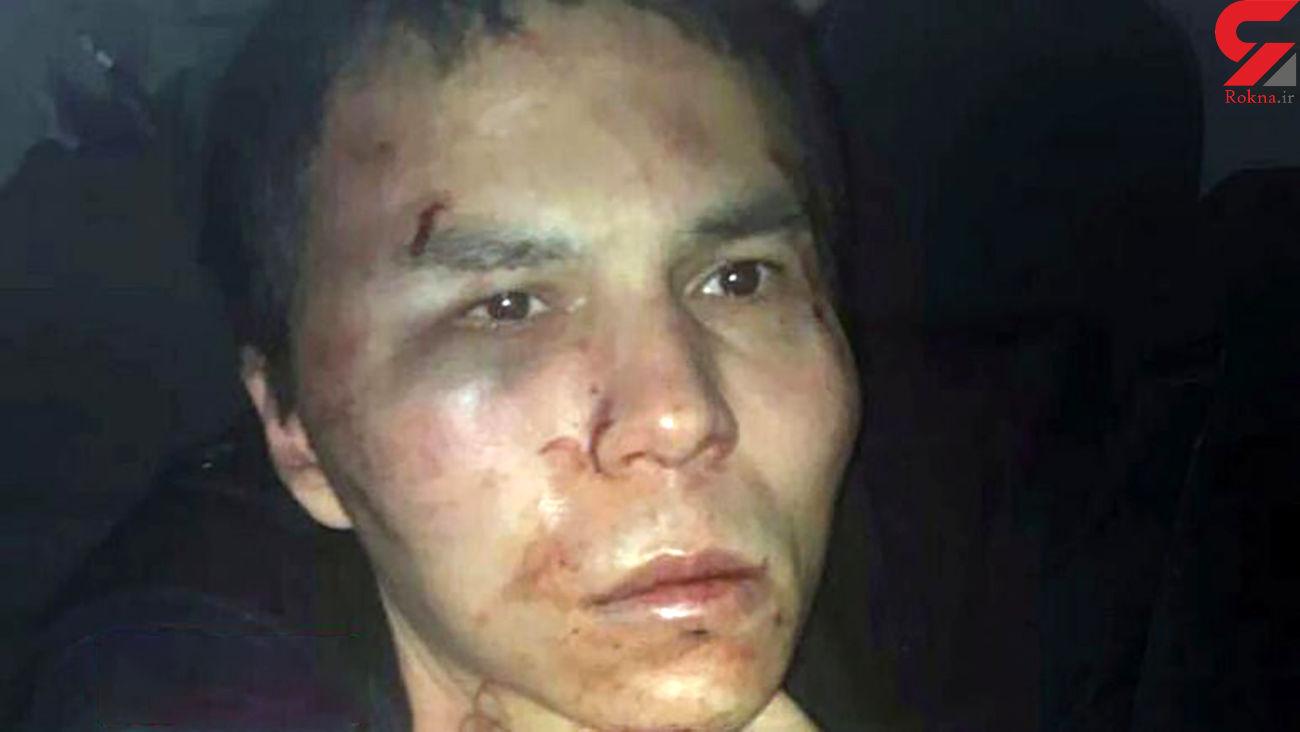 40بار حبس در انتظار عامل حمله مسلحانه در استانبول + عکس