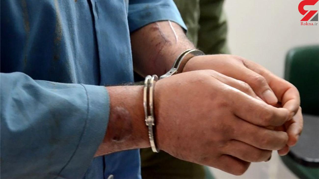 دستگیری یک سارق خانه در خرمشهر
