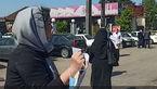 میتینگ انتخاباتی بدون ماسک احمدی نژاد در آستانه اشرفیه + فیلم
