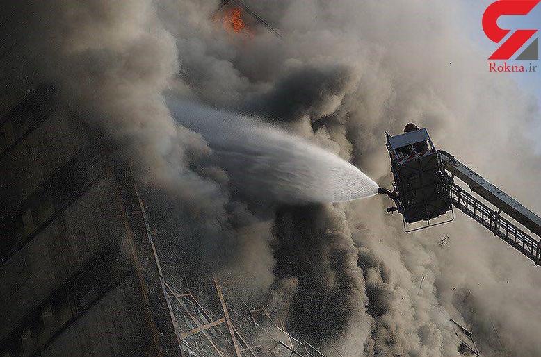 آیا فاجعه ساختمان پلاسکو امنیتی است؟ / تخلیه سفارتخانه های اطراف ساختمان