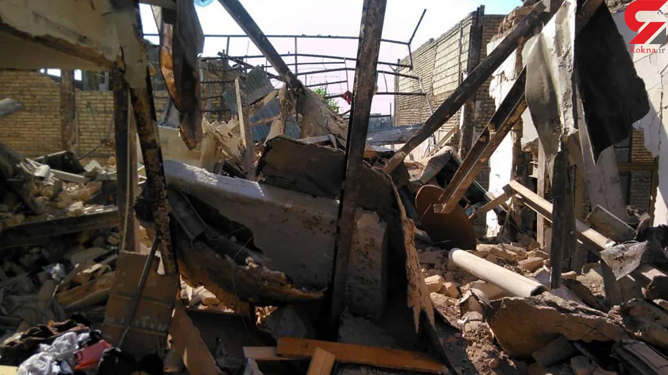 فیلم انفجار بزرگ در جوانمرد قصاب تهران /  6 زن و مرد مجروح شدند + عکس ها
