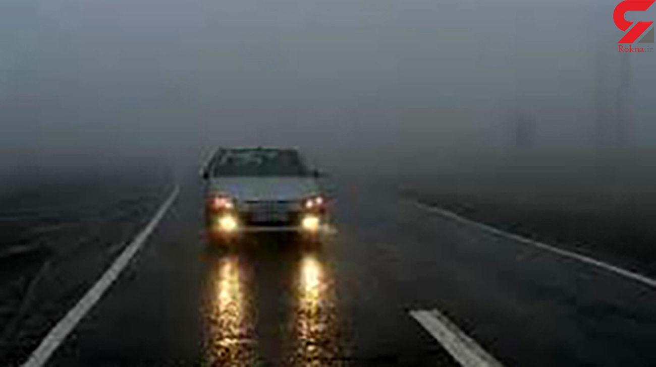 وضعیت جوی و ترافیکی راه های کشور