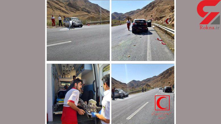 6 مصدوم در تصادف جاده ای / در جلفا رخ داد + عکس