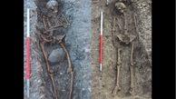 کشف اسکلت 26 انسان هنگام حفاری زمین / انگلیس در شوک!+عکس
