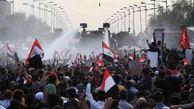 تجمع گسترده معترضان عراقی در میدان التحریر