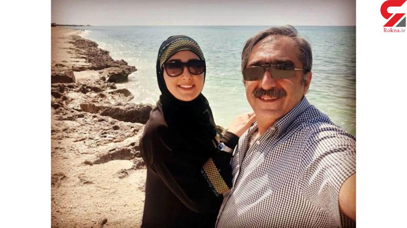 14 سال فاصله سنی  آقای و خانم مجری تلویزیون در ازدواج + عکس ها