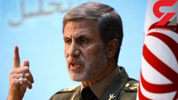 علت حضور نیافتن وزیر دفاع در راهپیمایی