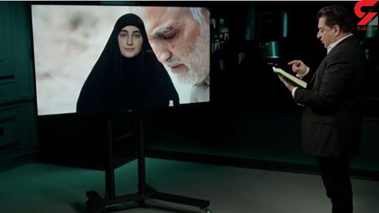توصیفات دختر سردار سلیمانی از پدرش در گفتگو با رسانه خارجی
