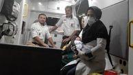 غم کرونا با شادی تولد نوزاد بوشهری از بین رفت + عکس