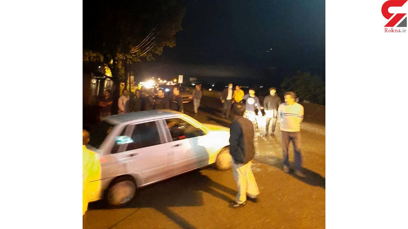 فیلم لحظه هفت تیرکشی اوباش در جوکندان / 3 مغازه دار زخمی شدند