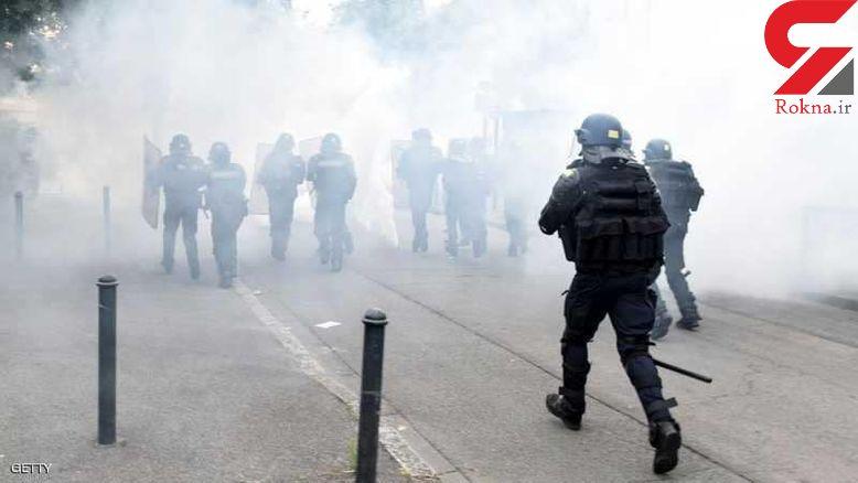 ادامه اعتراضات به کشته شدن جوان فرانسوی در نانت + عکس