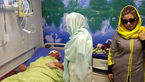 قربانیان اسید به دیدار معصومه جلیلپور رفتند + عکس