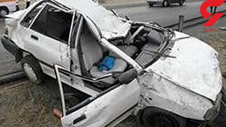 3 کشته در تصادف مرگبار محور زنجان - بیجار