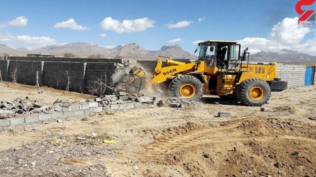 قلع و قمع 15 مورد ساخت و ساز غیر مجاز در مرند