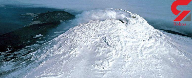 دریاچه مواد مذاب در قطب جنوب کشف شد + عکس