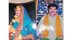 عکس عروسی یک زن که در آتش داماد زنده زنده سوخت! + جزییات