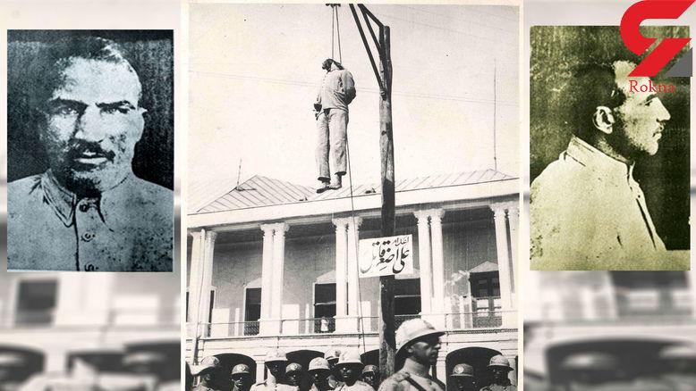 اعدام اصغر قاتل  اولین قاتل زنجیره ای ایران/این مرد کودکان را پس از آزار می کشت +عکس قدیمی