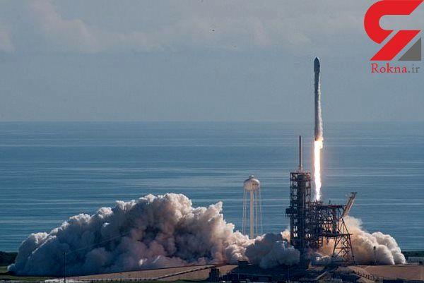 آخرین نسخه موشک اسپیس ایکس به فضا رفت