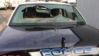 فیلم لحظه تعقیب و گریز مرگبار پلیس/ شلیک مظنون ماشین پلیس را متوقف کرد + عکس
