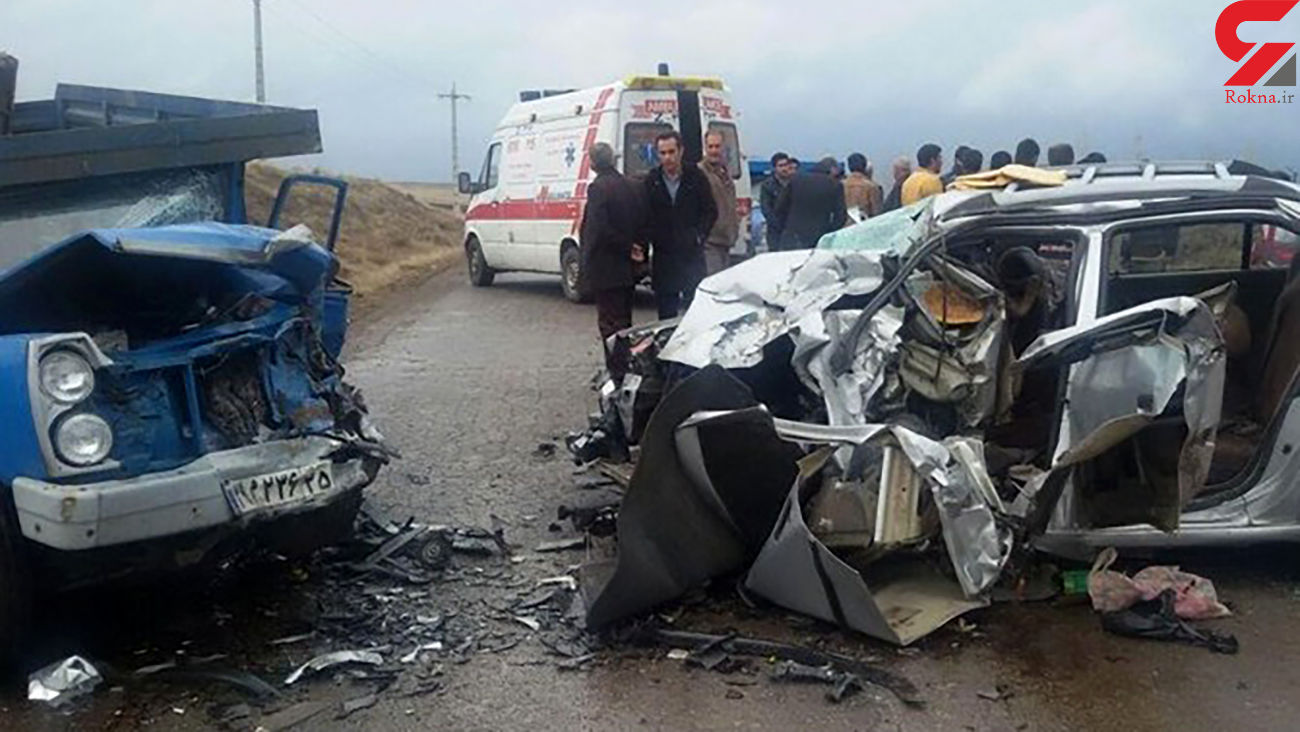 6 زخمی در سانحه جاده ای / در مرند رخ داد