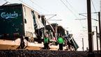 22 کشته و زخمی بر اثر تصادف 2 قطار در دانمارک+عکس