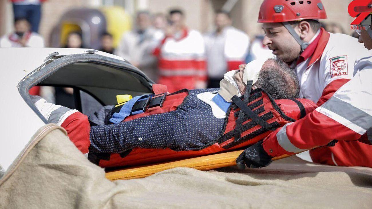واژگونی خودرو در گرگان با 5 زخمی