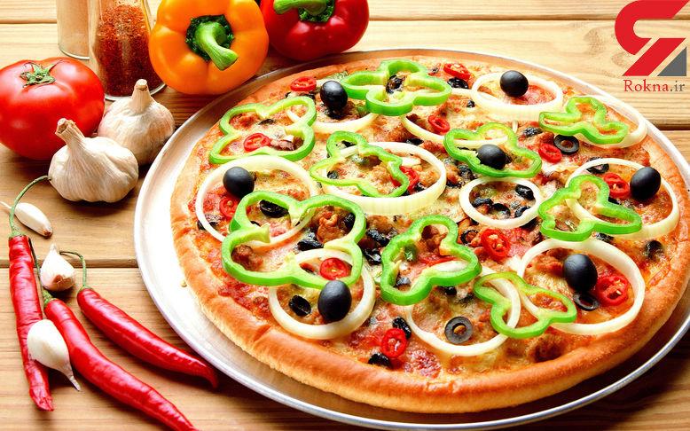 پیتزا در وعده صبحانه !