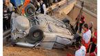 سرنوشت تلخ 4 جسد در ماشین مچاله شده+تصاویر
