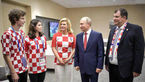 همسر و فرزندان رئیس جمهور پر حاشیه کرواسی که همه را بغل کرد +عکس