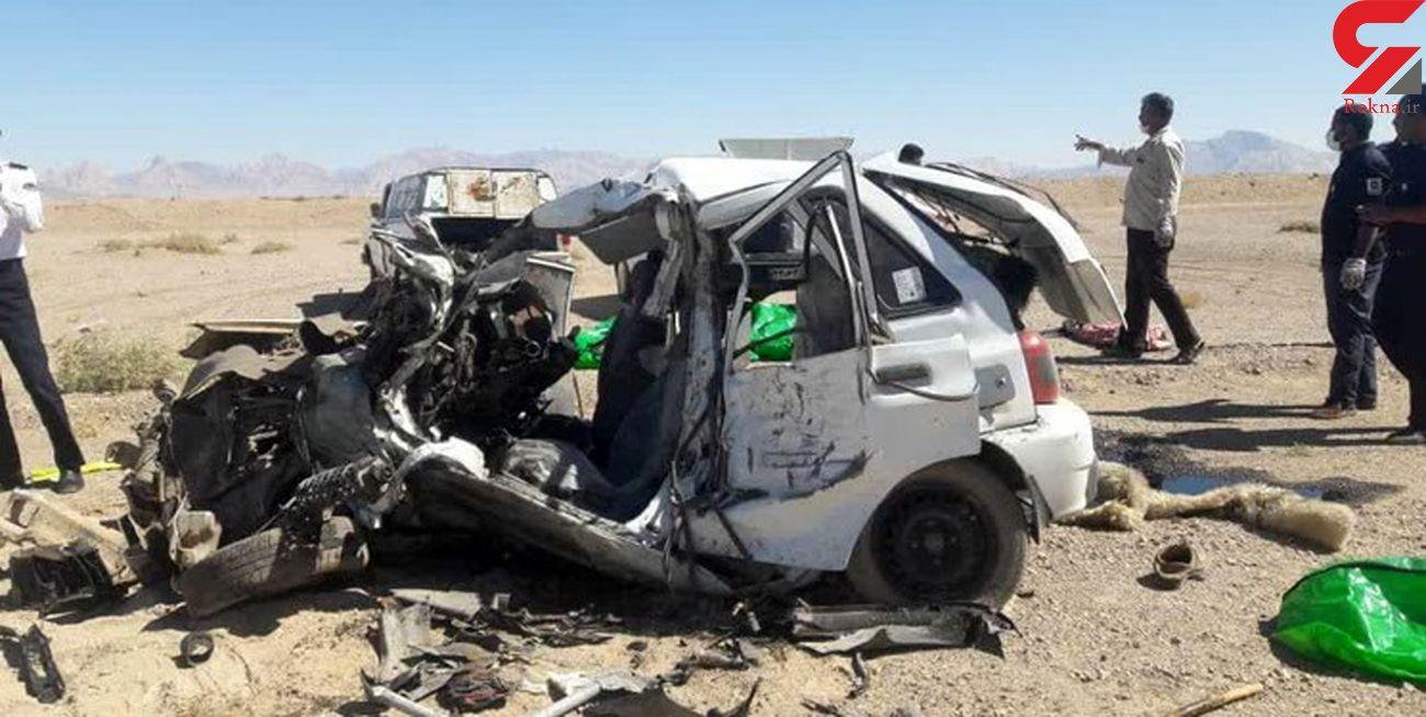 یک کشته و 14 مصدوم در 3 تصادف جادهای