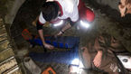 سقوط نگهبان 30 ساله از بیل مکانیکی در کردکوی + عکس