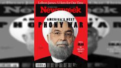تصویر حسن روحانی روی مجله آمریکایی نیوزویک