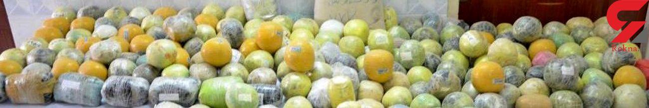 کشف بیش از ٢٧۴ کیلوگرم تریاک از کامیون حامل بار هندوانه در نیشابور