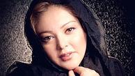عکس چشمان اشکبار «رزیتا غفاری»