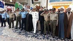 مسئولان سازمان عقیدتی سیاسی ارتش با آرمانهای امام راحل تجدید میثاق کردند