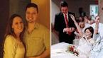مرگ تلخ عروس جوان 18 ساعت پس از عروسی اش+عکس