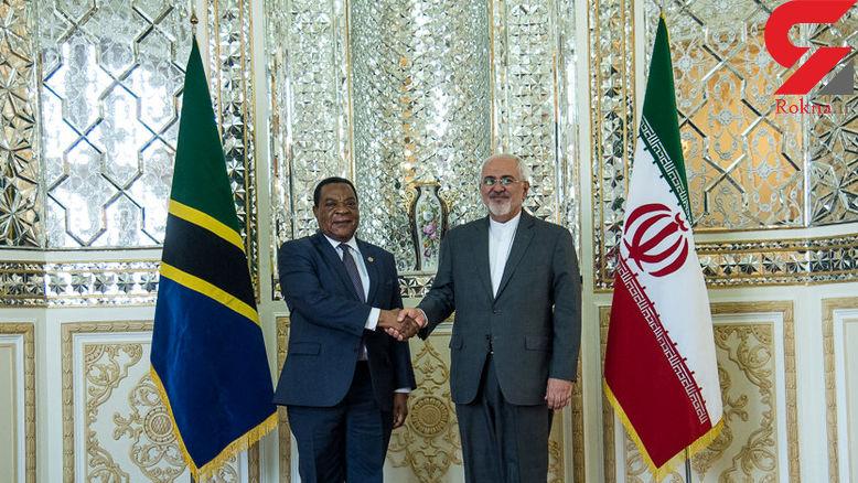 دیدار وزیران خارجه ایران و تانزانیا