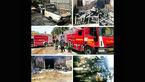 انفجار هولناک پژو در مشهد + تصاویر