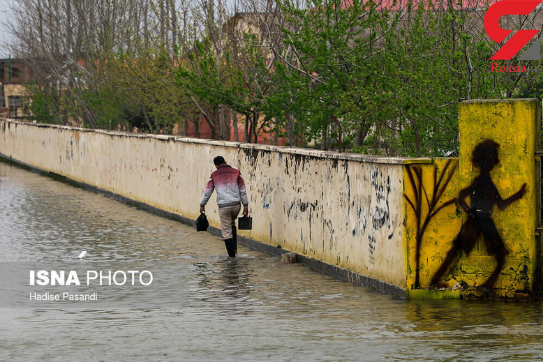 خبر ویژه / سیل ویرانگر جدید در راه خوزستان و لرستان