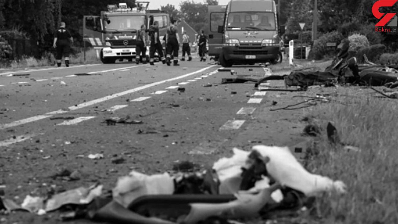 فیلم / لحظه پودرشدن شاسی بلند در تصادف مرگبار / آمریکا