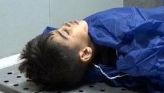 تصویری تلخ از پیکر بی جان طاها کوچولو قربانی حادثه تروریستی اهواز