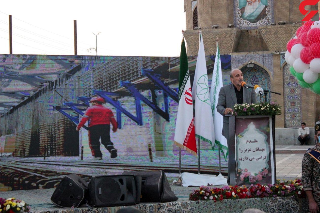 پروژه تقاطع غیر هم سطح شهید سلیمانی آبروی کرمانشاه است