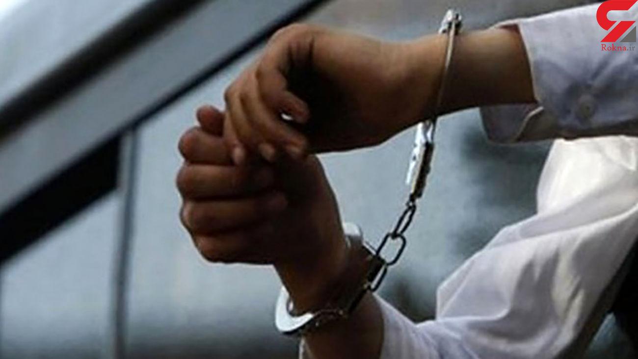 دستگیری سارق داخل خودرو در زنجان