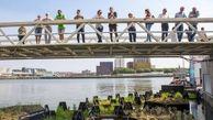 ساخت پارک شناور با زباله های بازیافتی در هلند
