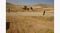 رفع تصرف اراضی ملی بهاباد
