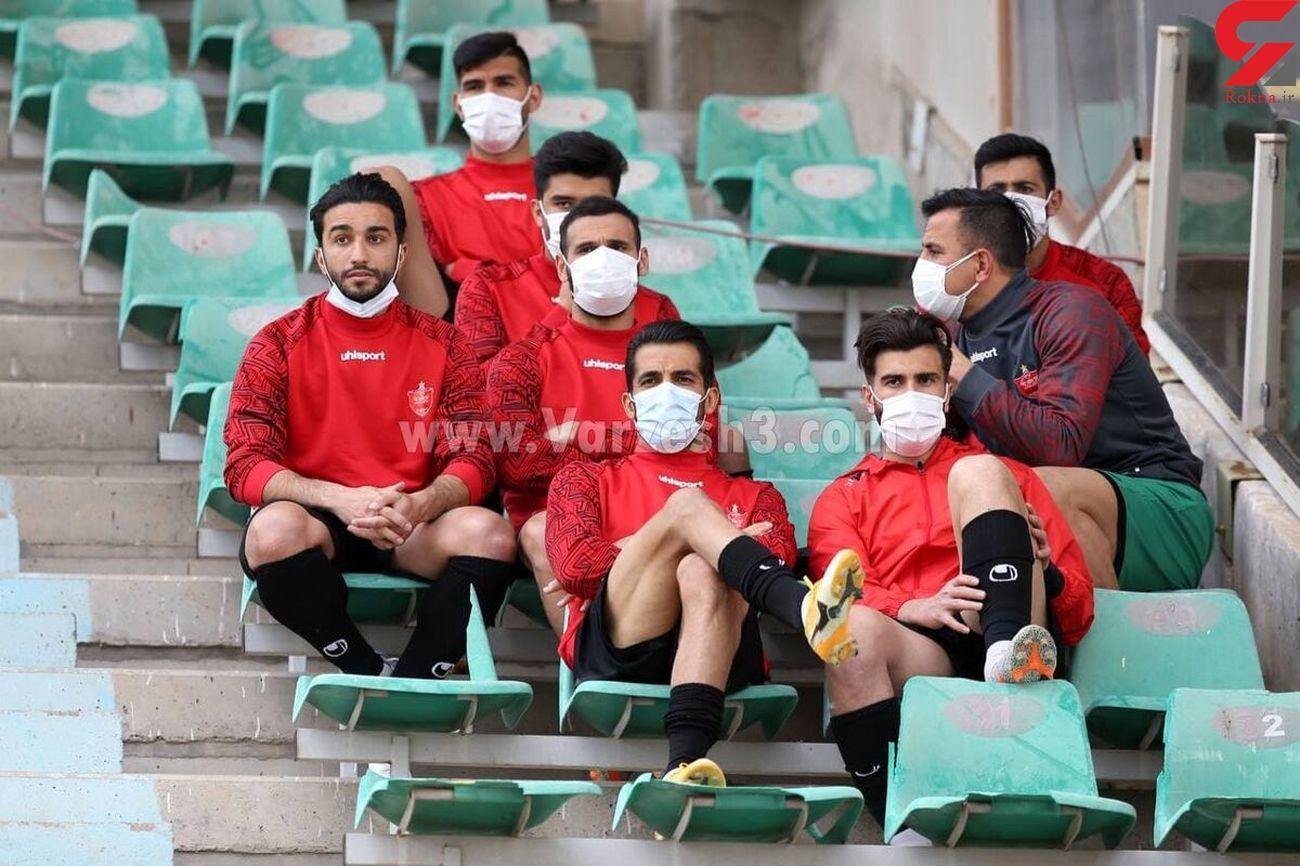 ترسناکترین نیمکت در فوتبال ایران + عکس