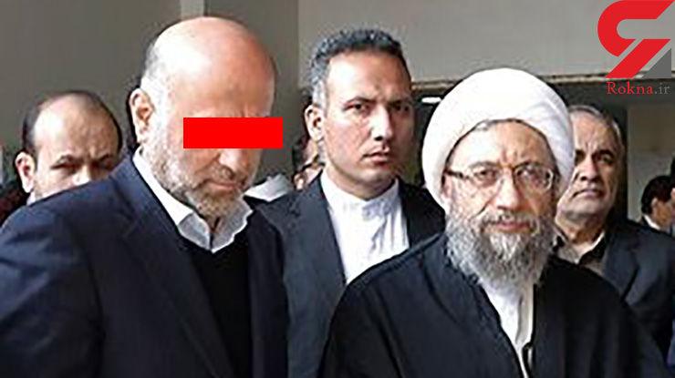 خبر ویژه /  بازداشت معاون اجرایی حوزه ریاست آملی لاریجانی در قوه قضائیه + عکس