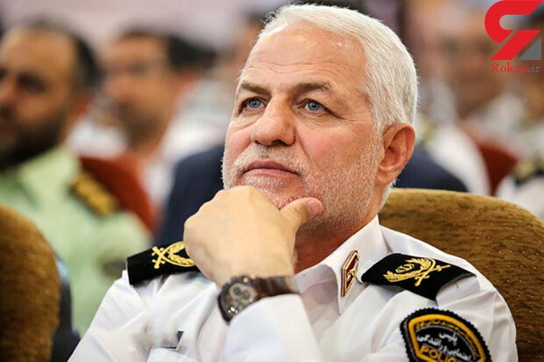 پیام نوروزی رئیس پلیس راهور ناجا