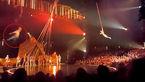 سقوط مرگبار بازیگر سیرک هنگام اجرای نمایش + فیلم و عکس